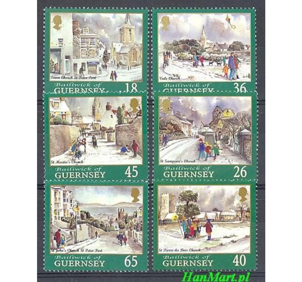 Guernsey 2000 Mi 868-873 Czyste **