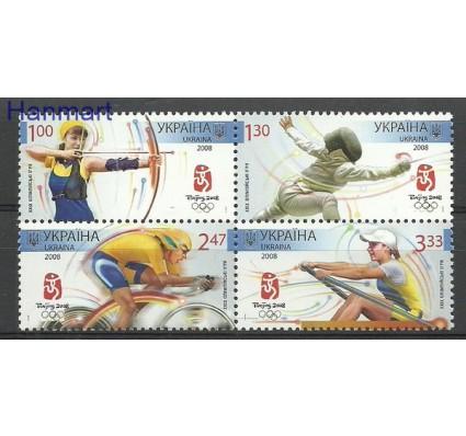 Znaczek Ukraina 2008 Mi 936-939 Czyste **