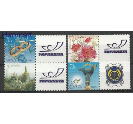 Ukraina 2007 Mi zf 843-846 Czyste **