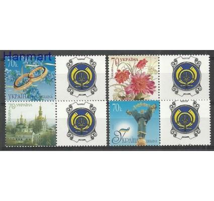 Znaczek Ukraina 2007 Mi zf 843-846b Czyste **