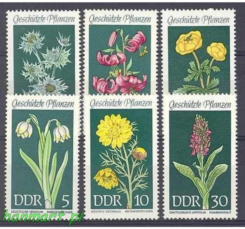 NRD / DDR 1969 Mi 1456-1461 Czyste **
