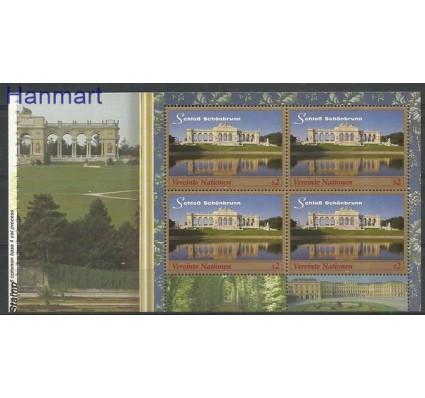 Narody Zjednoczone Wiedeń 1998 Mi h-blatt16 Czyste **
