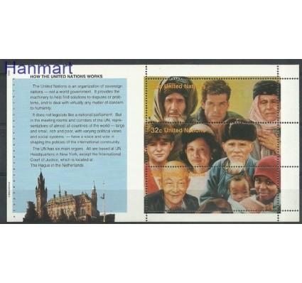 Narody Zjednoczone Nowy Jork 1995 Mi h-blatt1 Czyste **