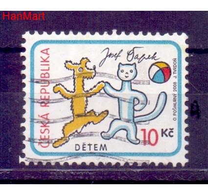 Czechy 2008 Mi mpl560a Stemplowane