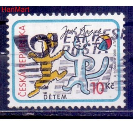 Czechy 2008 Mi mpl560d Stemplowane