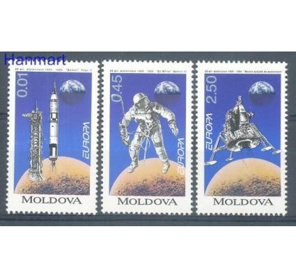 Mołdawia 1994 Mi 106-108 Czyste **