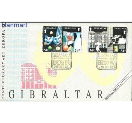 Znaczek Gibraltar 1993 Mi 654-657 FDC