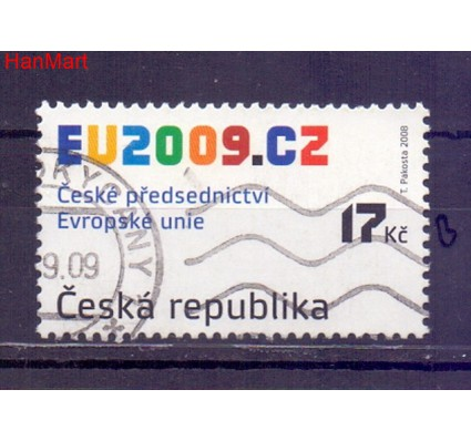 Czechy 2008 Mi mpl583b Stemplowane