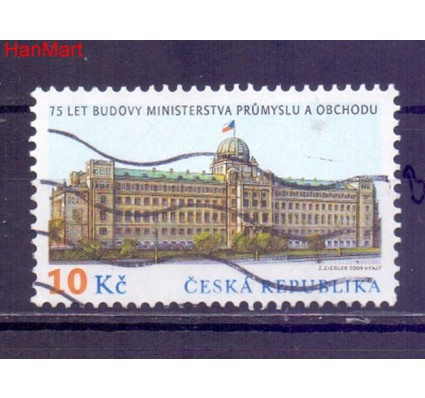 Czechy 2009 Mi mpl593b Stemplowane