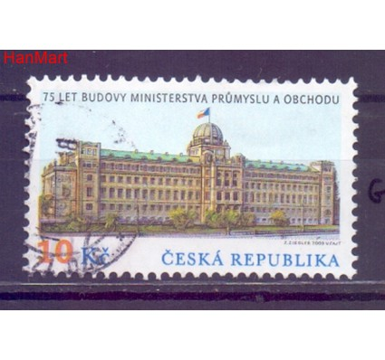 Czechy 2009 Mi mpl593g Stemplowane
