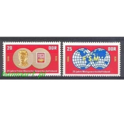 Znaczek NRD / DDR 1970 Mi 1577-1578 Czyste **