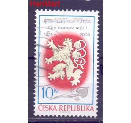 Czechy 2009 Mi mpl609b Stemplowane