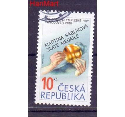 Czechy 2010 Mi mpl625a Stemplowane