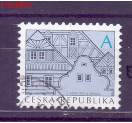 Czechy 2011 Mi mpl673e Stemplowane