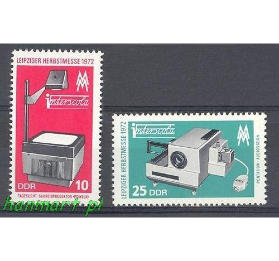 NRD / DDR 1972 Mi 1782-1783 Czyste **