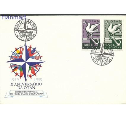 Znaczek Portugalia 1960 Mi 878-879 FDC