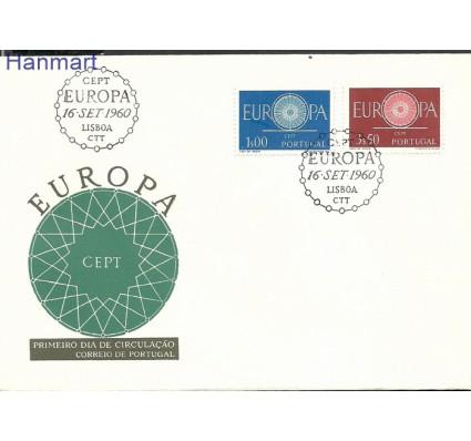 Znaczek Portugalia 1960 Mi 898-899 FDC