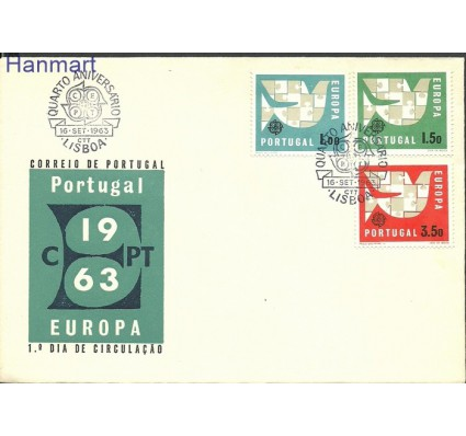 Portugalia 1963 Mi 948-950 FDC