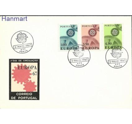 Znaczek Portugalia 1967 Mi 1026-1028 FDC