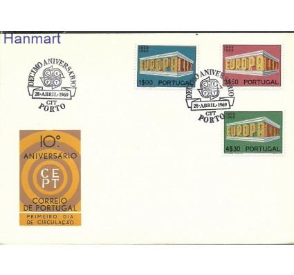 Portugalia 1969 Mi 1070-1072 FDC