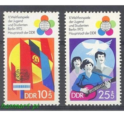 Znaczek NRD / DDR 1973 Mi 1829-1830 Czyste **