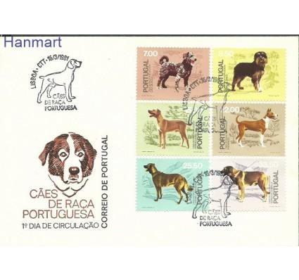 Znaczek Portugalia 1981 Mi 1522-1527 FDC