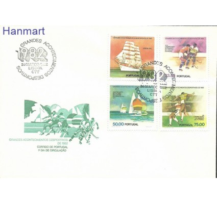 Znaczek Portugalia 1982 Mi 1558-1561 FDC