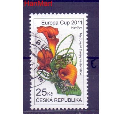 Znaczek Czechy 2011 Mi mpl688e Stemplowane