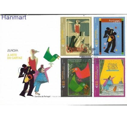 Znaczek Portugalia 2003 Mi 2677-2678A+M FDC