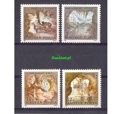 Węgry 1989 Mi 4043-4046 Czyste **