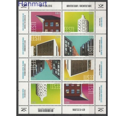 Znaczek Estonia 2016 Mi ark 852-855 Czyste **