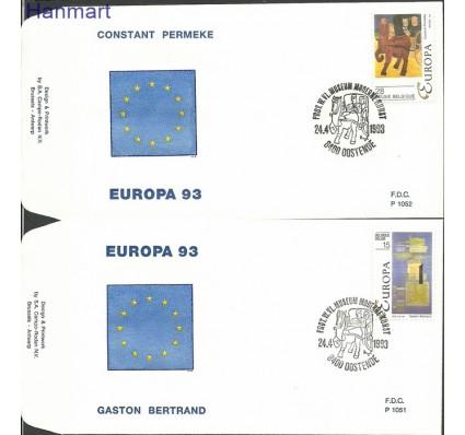 Znaczek Belgia 1993 Mi 2553-2554 FDC