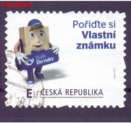 Czechy 2012 Mi mpl728c Stemplowane