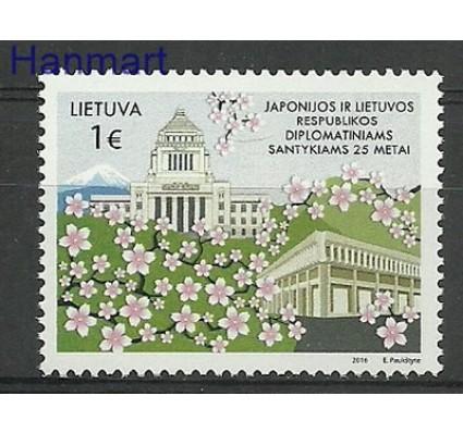 Znaczek Litwa 2016 Mi 1216 Czyste **