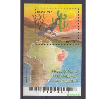 Znaczek Brazylia 2002 Mi bl 119 Czyste **