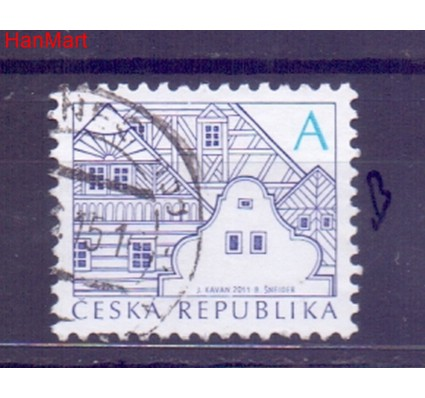 Czechy 2012 Mi mpl752b Stemplowane