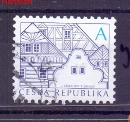 Czechy 2012 Mi mpl752j Stemplowane
