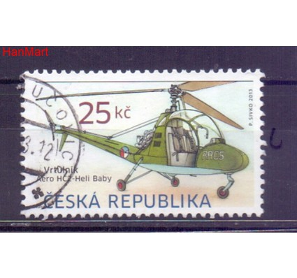 Czechy 2013 Mi mpl756c Stemplowane