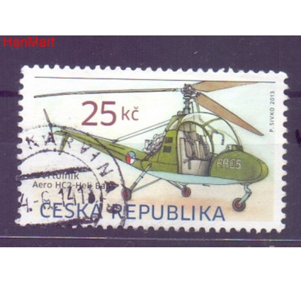 Czechy 2013 Mi mpl756h Stemplowane