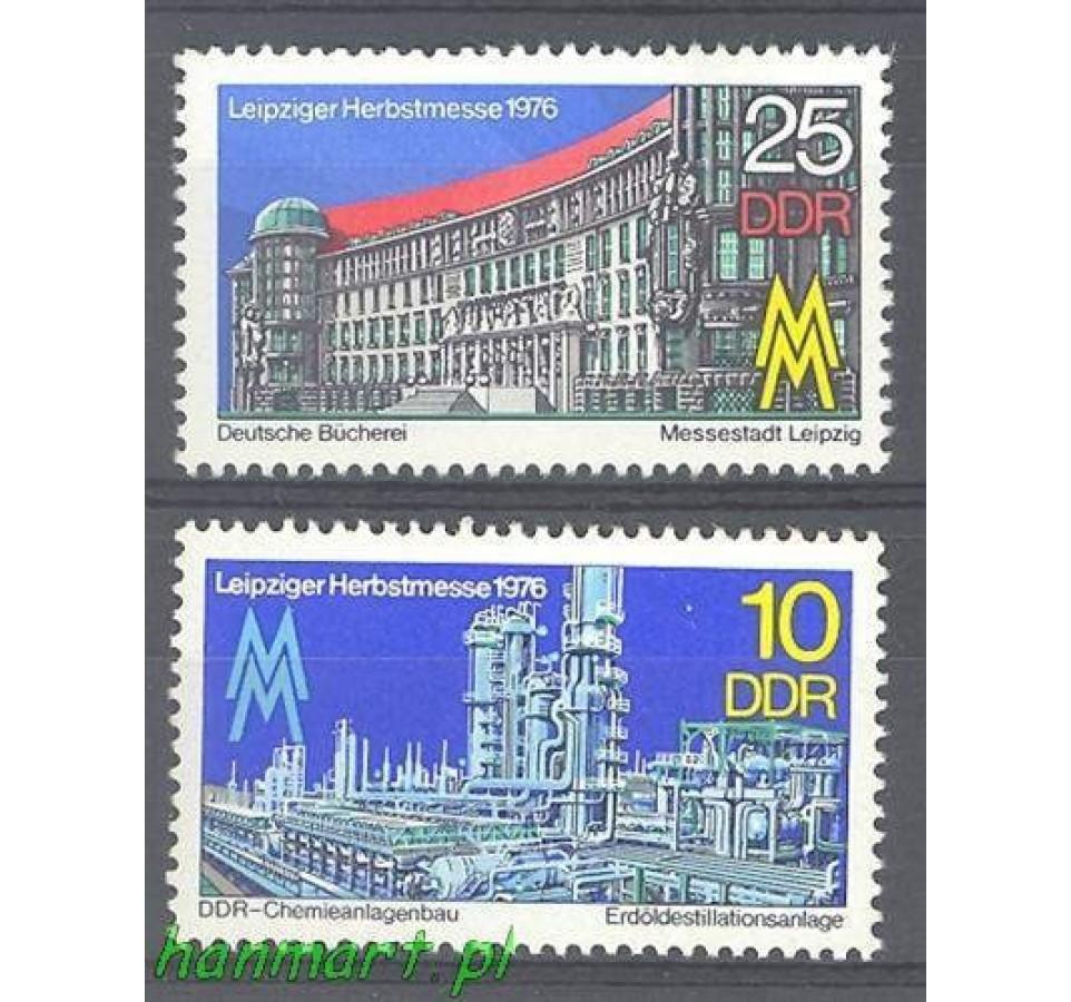 NRD / DDR 1976 Mi 2161-2162 Czyste **