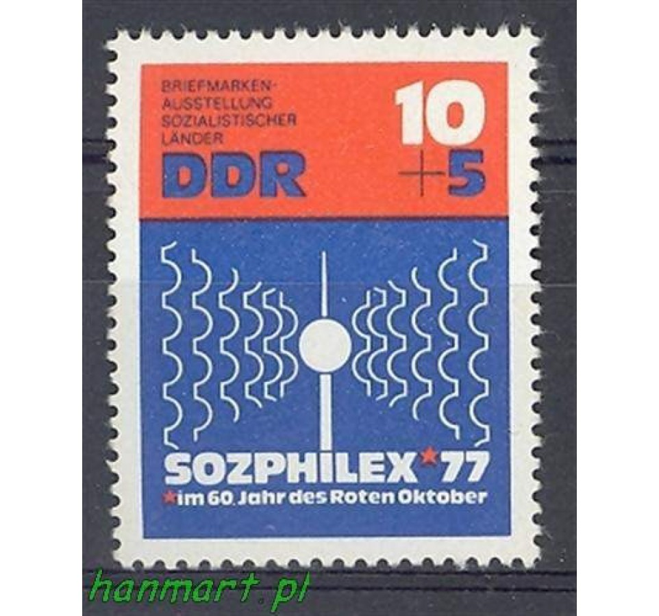 NRD / DDR 1976 Mi 2170 Czyste **
