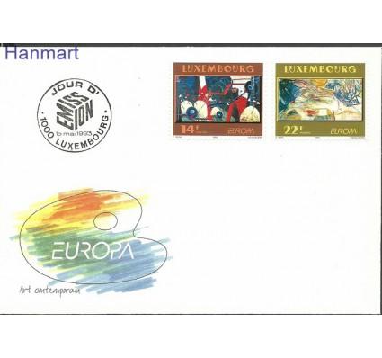 Znaczek Luksemburg 1993 Mi 1318-1319b FDC