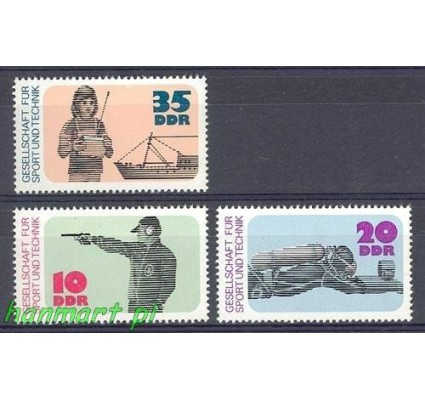 Znaczek NRD / DDR 1977 Mi 2220-2222 Czyste **