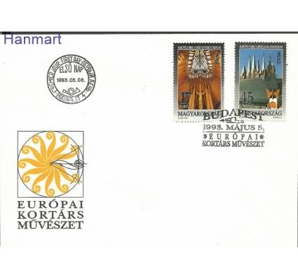 Znaczek Węgry 1993 Mi 4241-4242 FDC