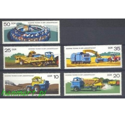 NRD / DDR 1977 Mi 2236-2240 Czyste **