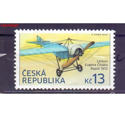 Czechy 2014 Mi mpl797c Stemplowane