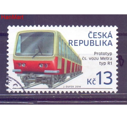Czechy 2014 Mi mpl798b Stemplowane