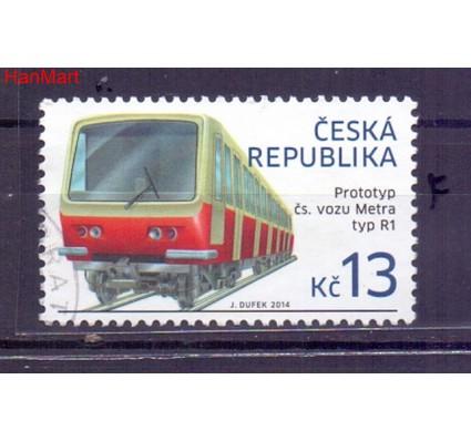 Czechy 2014 Mi mpl798f Stemplowane