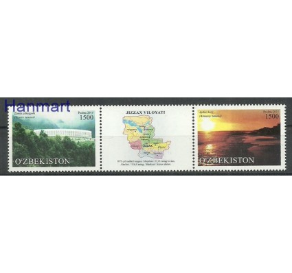 Znaczek Uzbekistan 2015 Mi 1133-1134 Czyste **