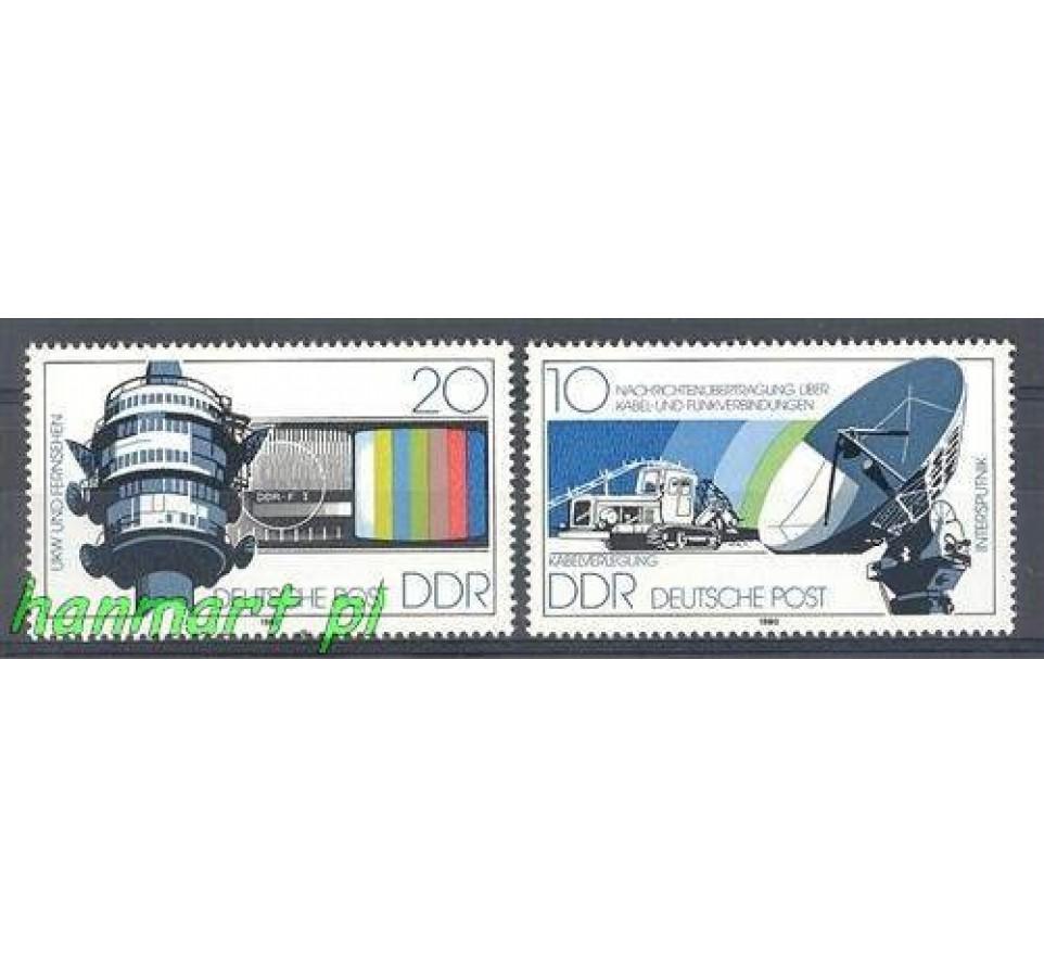 NRD / DDR 1980 Mi 2490-2491 Czyste **